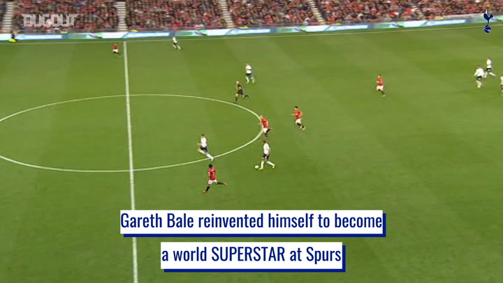 Gareth Bale's transformation from left-back to left wing superstar