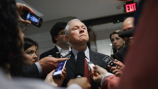 Sessions says he'll carry on with or without Trump's support