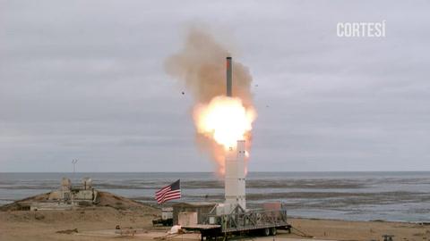 EEUU prueba misil de medio alcance tras dejar el tratado INF