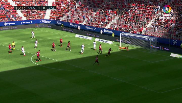 J4. Osasuna 1-4 Valencia. PARTIDO GUEDES