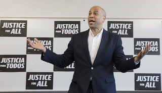 Cory Booker speaks at UNLV