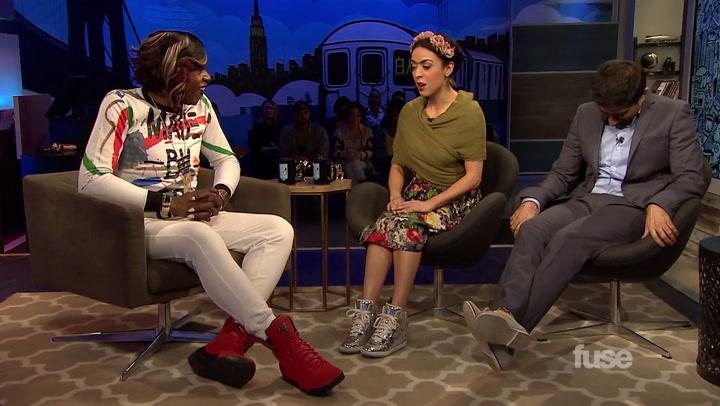 Big Freedia Teaches 'White Guy Talk Show' Hosts How to Twerk