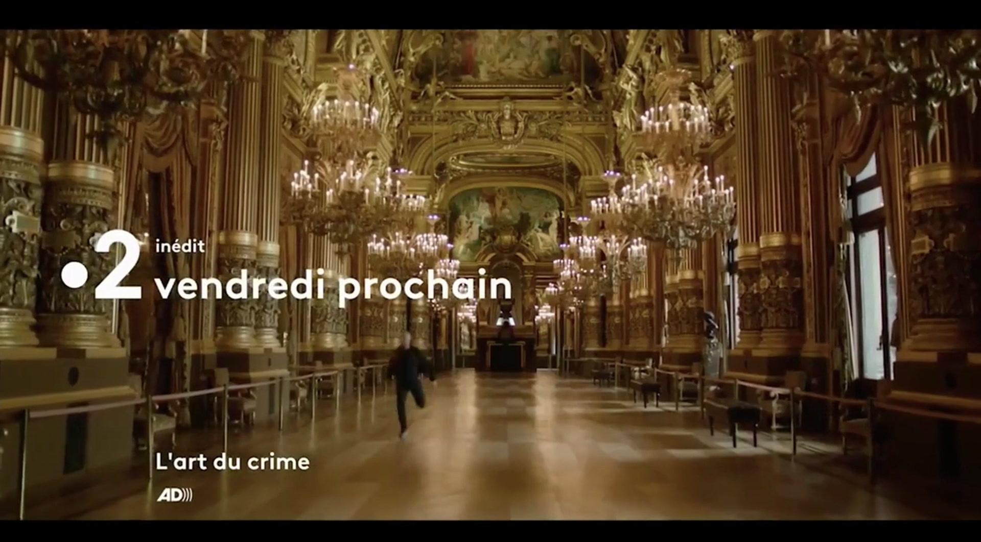 L'art du crime : Un fantôme à l'opéra