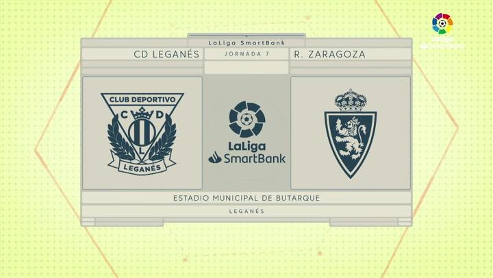 LaLiga SmartBank (J7): Resumen y gol del Leganés 1-0 Zaragoza