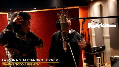 La Mona Jiménez y Lerner, juntos para una nueva versión de Todo a pulmón