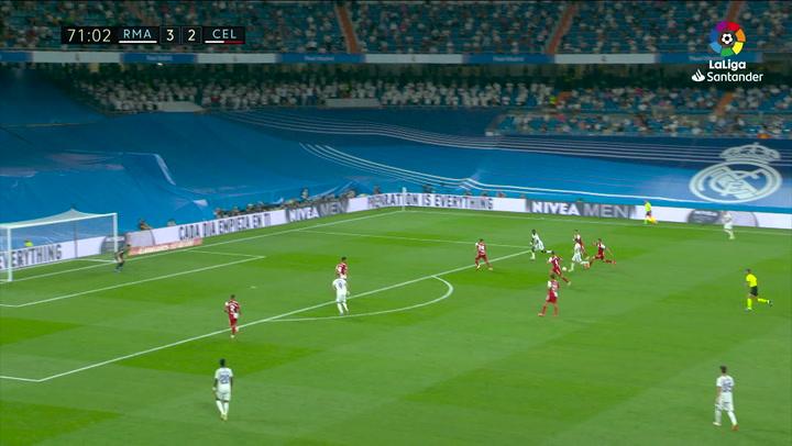 Gol de Camavinga (4-2) en el Real Madrid 5-2 Celta de Vigo