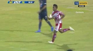 ¡Jesús Rivera descuenta y Vida sigue perdiendo ante Motagua en Comayagua!