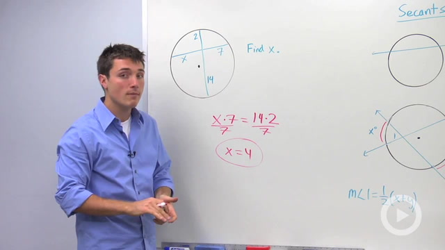 Secants - Problem 3