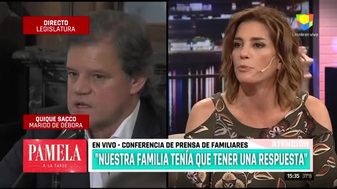 Habló Enrique Sacco sobre la muerte de Débora Pérez Volpin