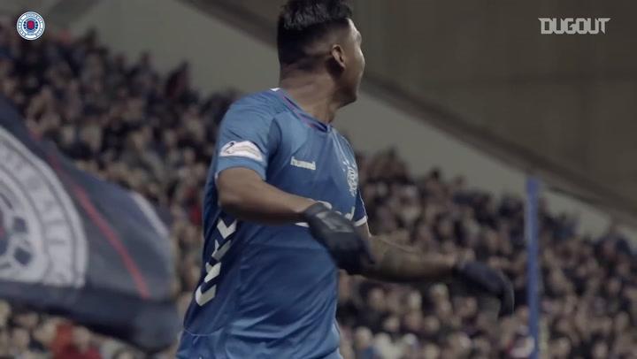 Alfredo Morelos' Rangers story