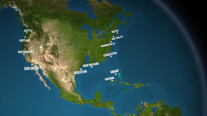 What Earth would look like if the ice melted Business Insider