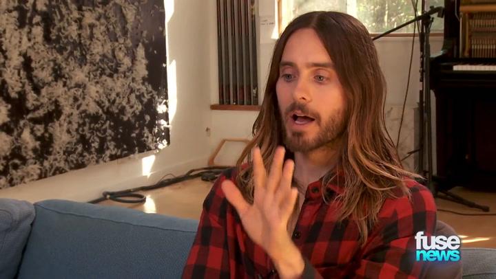 Shows: Fuse News: Jared Leto Tease