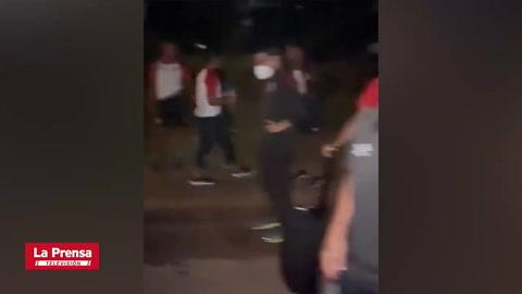 Futbolistas del Olimpia comparten video de la odisea que vivieron en Surinam