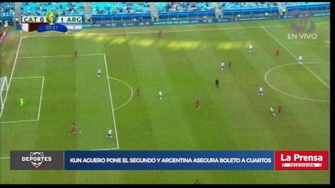 Video: Argentina doblega a Catar y amarra pase a cuartos de final de la Copa América
