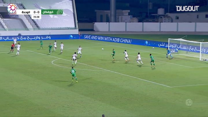 Highlights: Khorfakkan 1-2 Al-Wahda