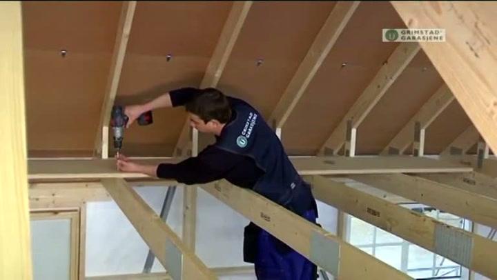 Bygge garasje: Hvordan legge spongulv