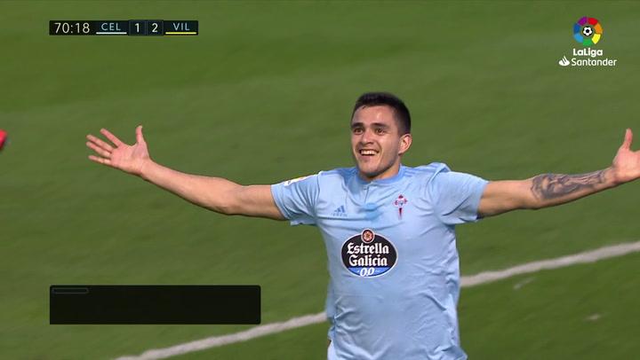 LaLiga: Celta - Villarreal. Gol de Maxi Gómez en el minuto 71 (2-2)