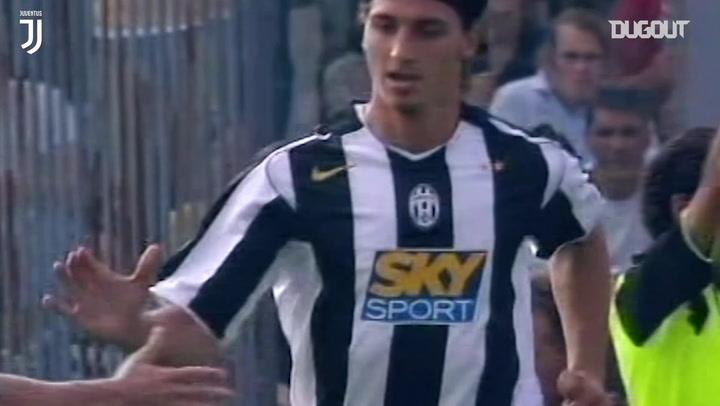 Zlatan Ibrahimović's debut goal vs Brescia