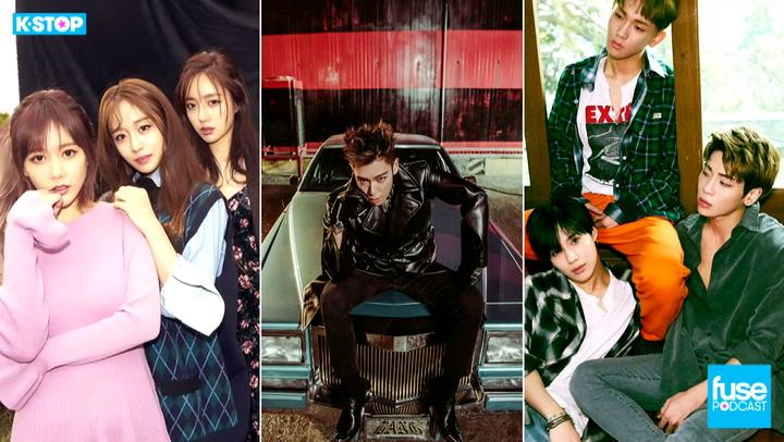 SHINee, T-ara, Astro, BIGBANG TOP's Military News: K Stop