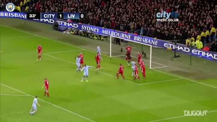 Cinco vitórias marcantes do Manchester City sobre o Liverpool