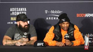 Adesanya-Romero defend their performances at UFC 248 – VIDEO