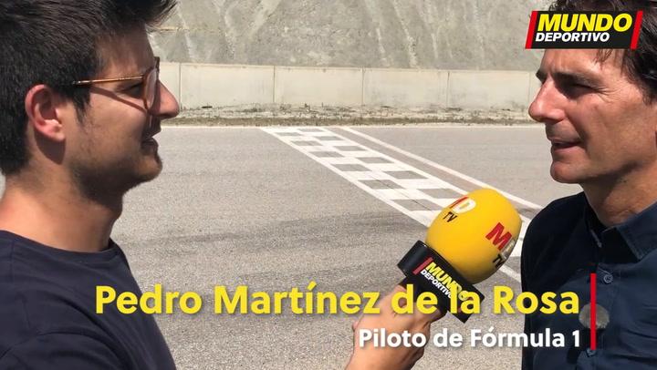 De la Rosa opina sobre la participación de Alonso en el Dakar