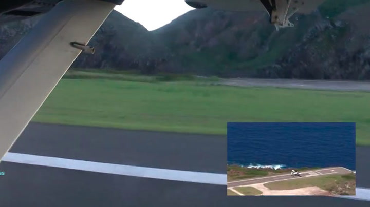 Her tar flyet av fra kanten av stupet