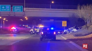 Wrong-way driver causes fatal crash near Las Vegas airport, authorities say – VIDEO