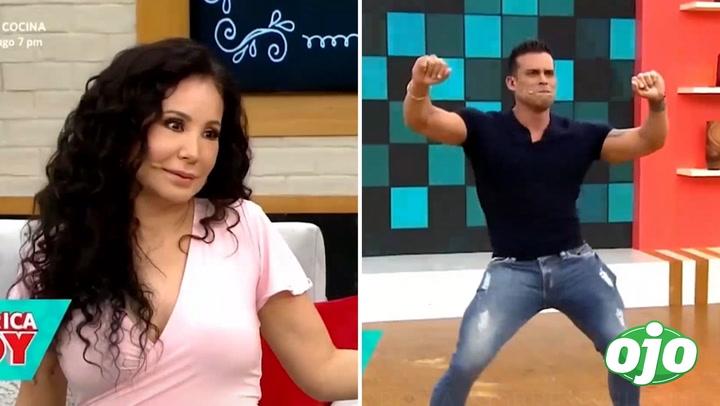 """Janet Barboza se emociona con sensual baile de Christian Domínguez: """"Él es mi placer culposo"""""""