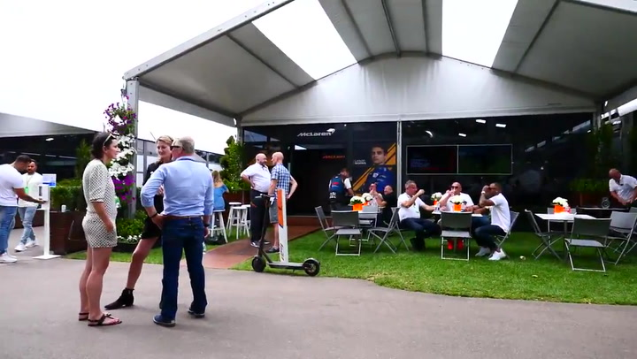 El paddock de McLaren antes de anunciar su retirada