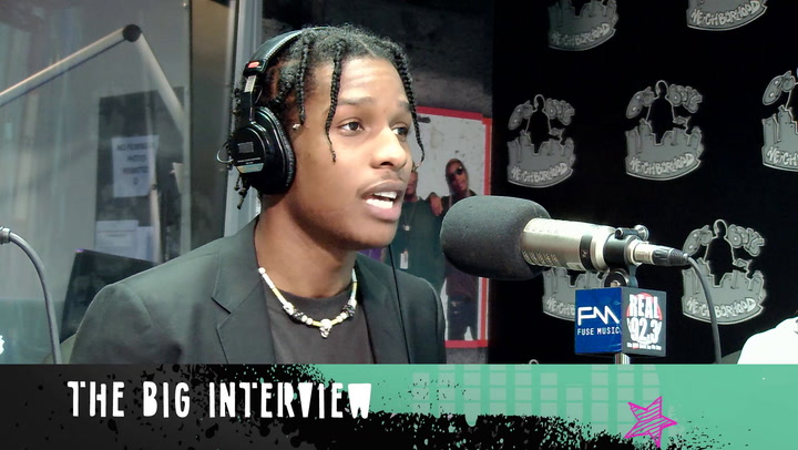 A$AP Rocky Talks Bra-Throwing And Live Shows