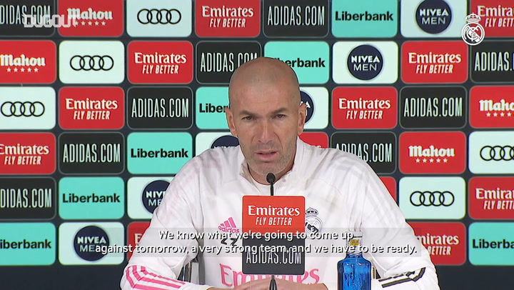 Zinedine Zidane: 'There're no easy games in this league'