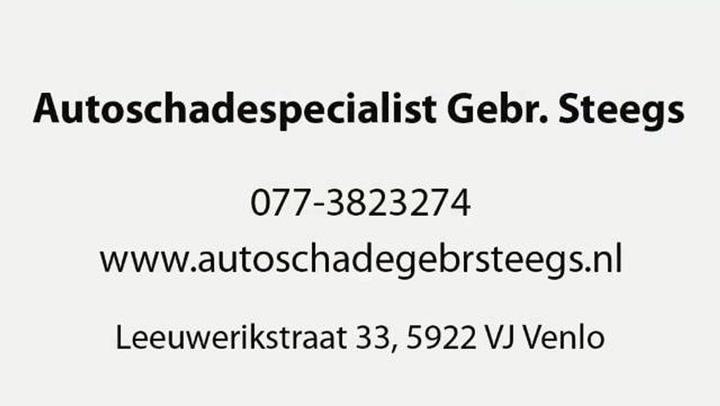 Autoschadebedrijf Firma Gebr Steegs