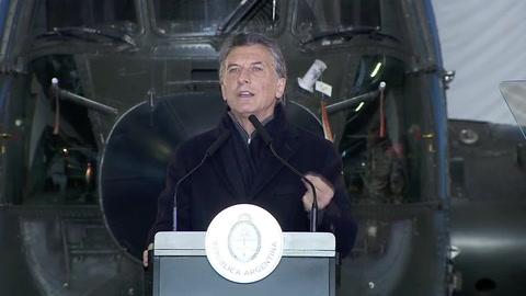 Macri propone que los militares colaboren con la seguridad interior