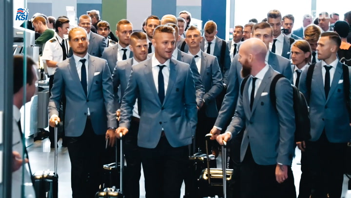 The Iceland Team Are Heading To Russia