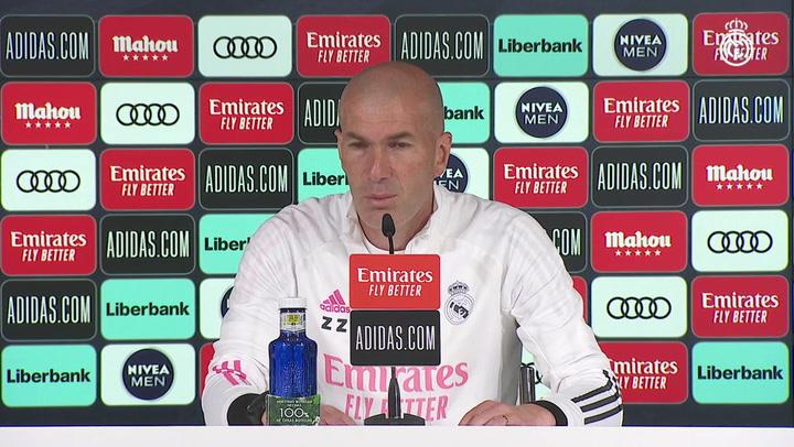 Zidane habla del trascendental partido contra el Getafe