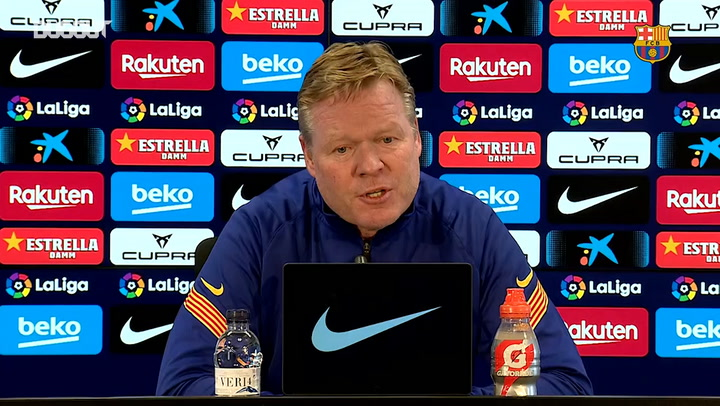 Ronald Koeman: 'We need to improve in various aspects.'