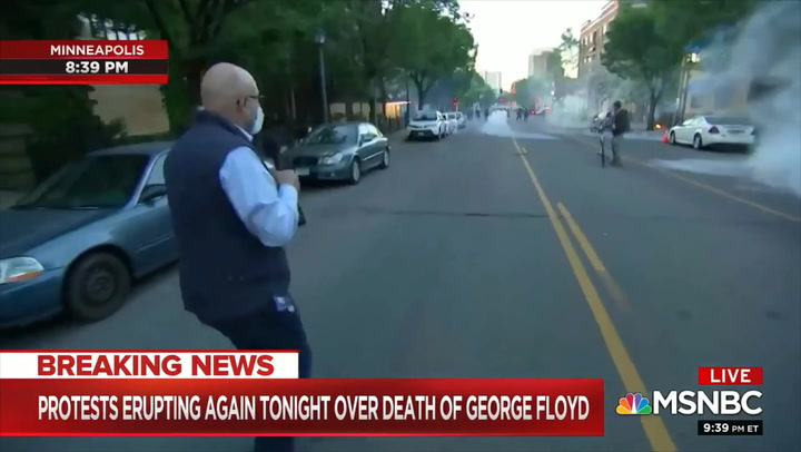 MSNBC's Velshi: Police Fired Tear Gas at Us 'Unprovoked'