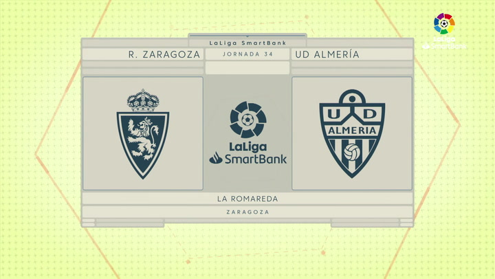 LaLiga SmartBank (J34): Resumen y goles del Zaragoza 2-1 Almería