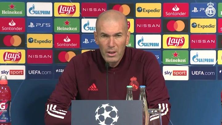 """Zidane: """"Hay que confirmar el triunfo logrado en el Camp Nou"""""""