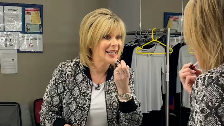 Ruth Langsford makes a statement in snake print as she reveals happy news