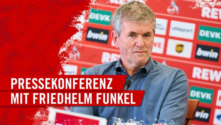 PK mit Friedhelm Funkel