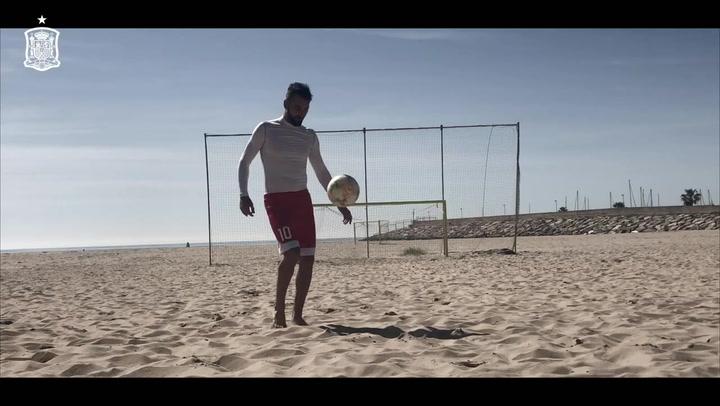 Los internacionales de fútbol playa vuelven a la arena