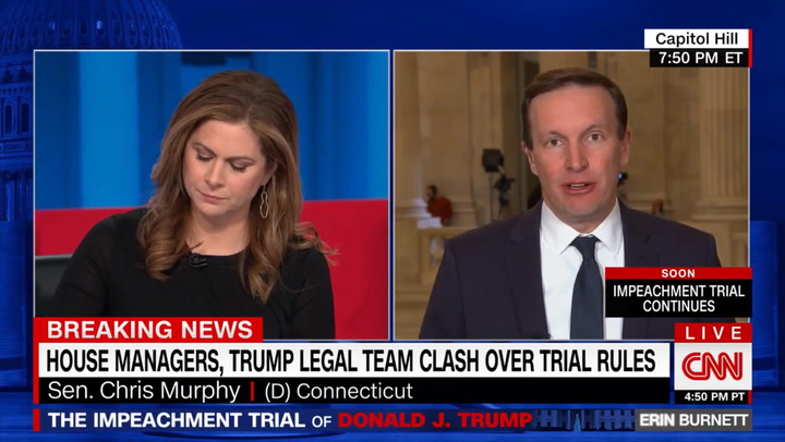Murphy: 'Right Now, There Aren't Four Republican Senators' for Witnesses