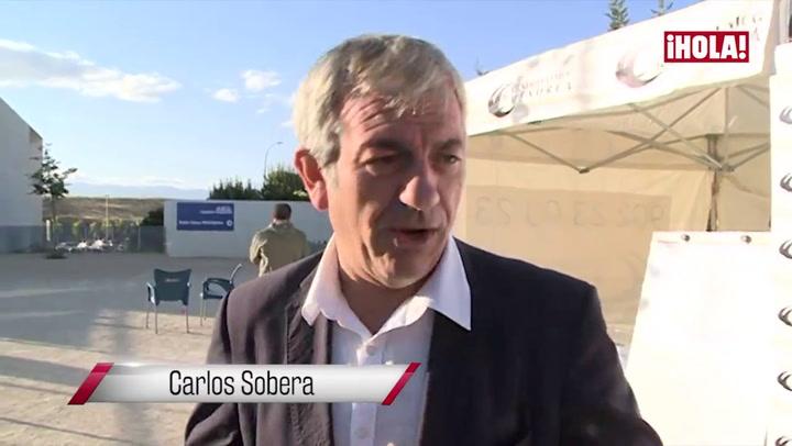 Carlos Sobera habla feliz de su boda con Patricia: \'Fue muy divertida y muy emotiva\'