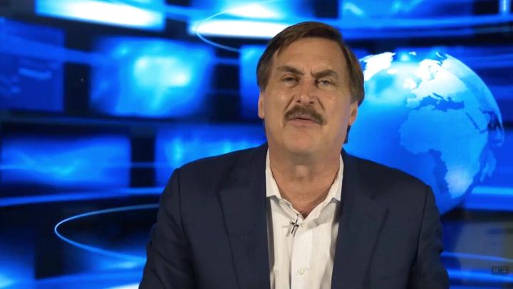Mike Lindell rants against Facebook fact checker Alan Duke