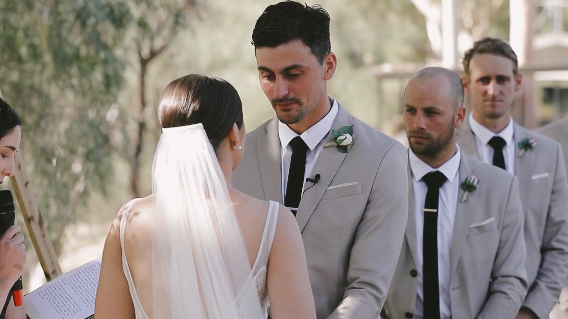 Tanya  + Matty   Euston, Australia   marquee