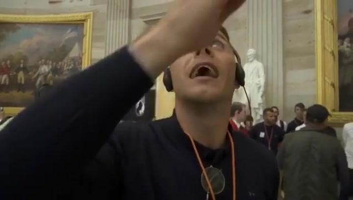 La ocurrencia de Joaquín en el Capitolio que ha desatado las risas