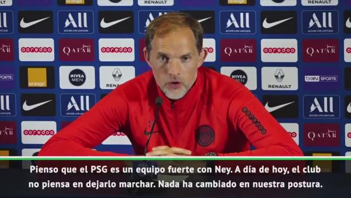Tuchel habla de la situación de Neymar en el PSG