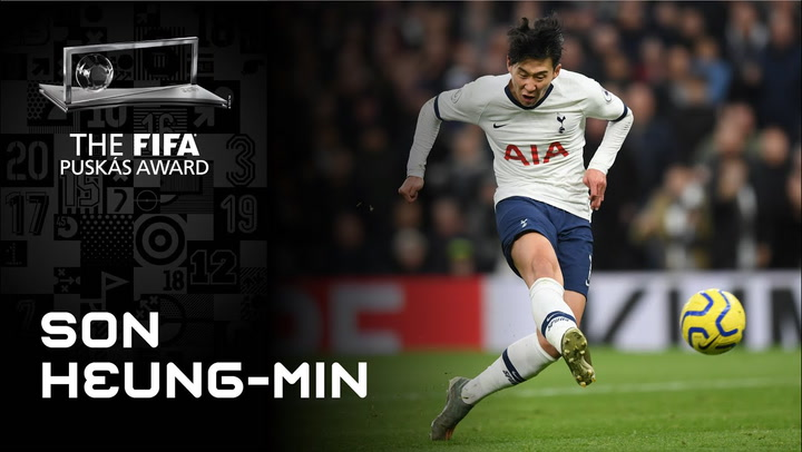 Gol de Son Heungmin - Finalista FIFA Puskas Award 2020